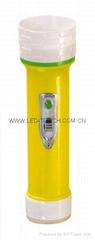 LED彩色塑料手電筒 PS300C