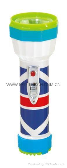 LED彩色塑料手電筒 98D2DE2 1