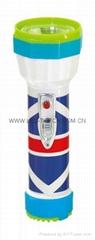 LED彩色塑料手電筒 98D2DE2