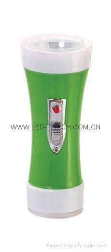 LED彩色塑料手電筒 PX150CR 1