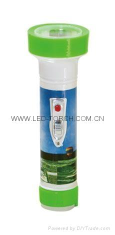 LED彩色塑料手電筒 JPA200 1