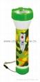 LED彩色塑料手電筒 JPC2