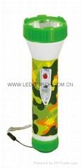 LED彩色塑料手電筒 JPC200
