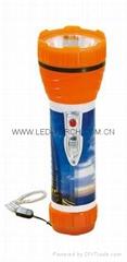 LED彩色塑料手電筒 JPD200