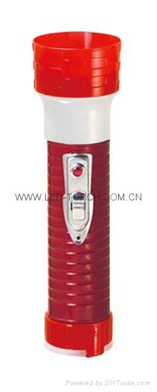 LED鐵塑彩色手電筒 MPS300EC 8