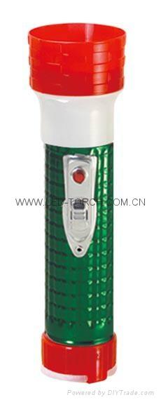 LED鐵塑彩色手電筒 MPS300EC 5