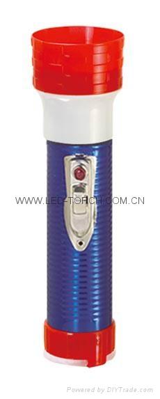 LED鐵塑彩色手電筒 MPS300EC 6