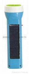 Solar & Rechargeable LED Flashlight SL-003