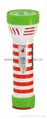 LED彩色塑料手電筒 99C2DE2