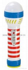 LED彩色塑料手電筒 99C2DE2S