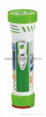 LED彩色塑料手電筒 99C2DE1