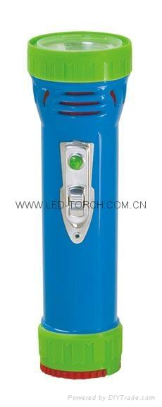 LED彩色塑料手電筒 99D2DE1 1