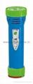 LED彩色塑料手電筒 99D2