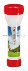 LED彩色塑料手電筒 98D2DE1