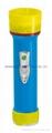 LED Colour Plastic Flashlight/Torch PS300C