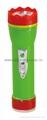 LED彩色塑料手電筒 PP30
