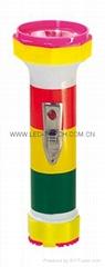 LED彩色塑料手電筒 PS350DP