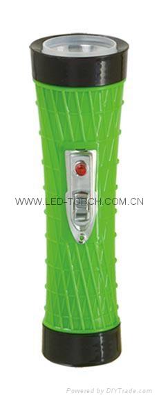 LED彩色塑料手電筒 PX300C 1