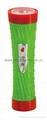 LED Colour Plastic Flashlight/Torch PX300C