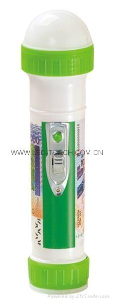 LED彩色塑料手電筒 TWP101S 1