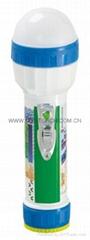 LED彩色塑料手電筒 98D2DE2S