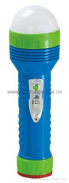 LED彩色塑料手電筒 96B2DE2S 1