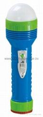 LED彩色塑料手電筒 96B2DE2S