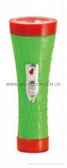 LED彩色塑料手電筒 PX350