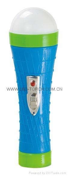 LED彩色塑料手電筒 PX350S 1