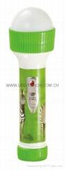 LED彩色塑料手電筒 FT99E2S