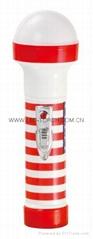 LED彩色塑料手電筒 TWP2DE1S