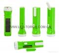 Solar & Rechargeable LED Flashlight