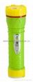 LED彩色塑料手電筒 PF300C 1
