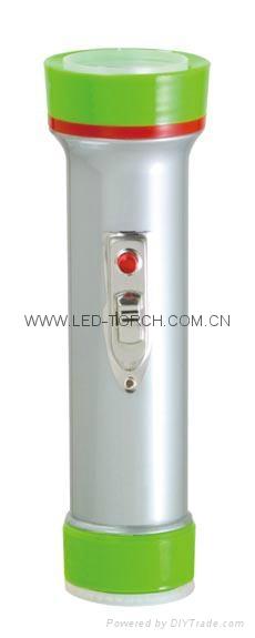 LED彩色塑料手電筒 TWP101M 1