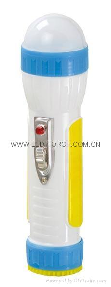 LED Colour Plastic Flashlight/Torch PA300CS