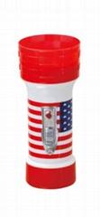 LED彩色塑料手電筒 FTJ150M