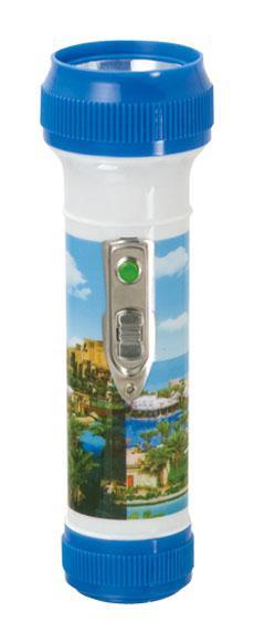 LED彩色塑料手電筒 FTP2DE1 1