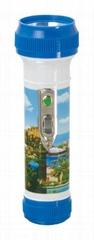 LED彩色塑料手電筒 FTP2DE1