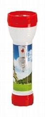 LED彩色塑料手電筒 98A2DE1