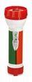 LED彩色塑料手電筒 98A2