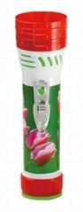 LED彩色塑料手電筒 99C2DE1X
