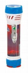 LED彩色塑料手電筒 99C2DE1N