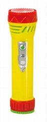 LED彩色塑料手電筒 99D2DE1N