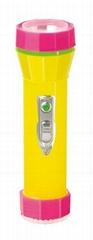 LED彩色塑料手電筒 PB300C