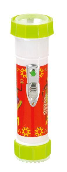 LED彩色塑料手電筒 TWP2DE1B 1