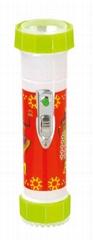 LED彩色塑料手電筒 TWP2DE1B