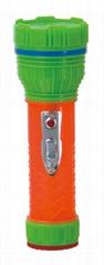 LED彩色塑料手電筒 PN350C