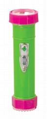 LED彩色塑料手電筒 TWP2DE1BC