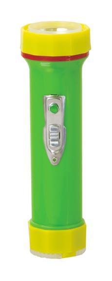 LED Colour Plastic Flashlight/Torch TWP101BC