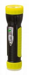 LED彩色塑料手電筒 PA300BC
